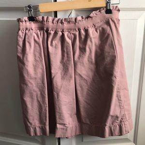 JCrew skirt, pink, size 8